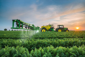 Deere hopes to help customers reduce waste during the nutrient application process and improve overall efficiency on the farm with its latest acquisition of Blue River Technology.