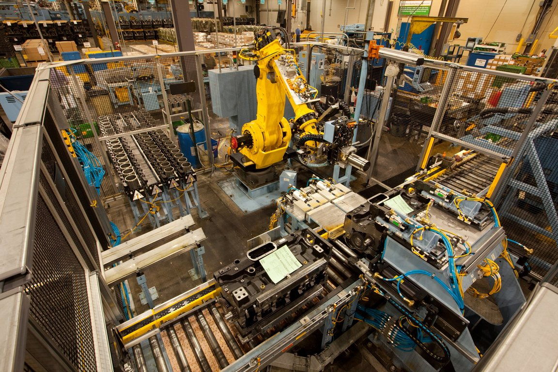 A behind the scenes look at the john deere engine testing for Motor manufacturers in usa