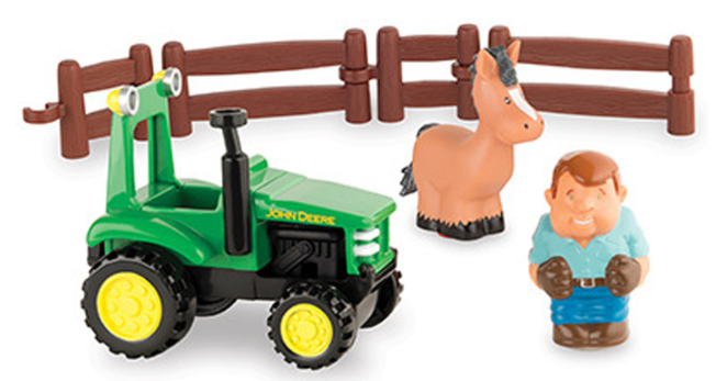 First farm fun tractor playset