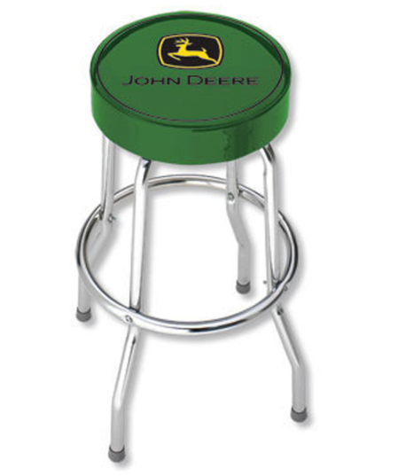John Deere Green Stool