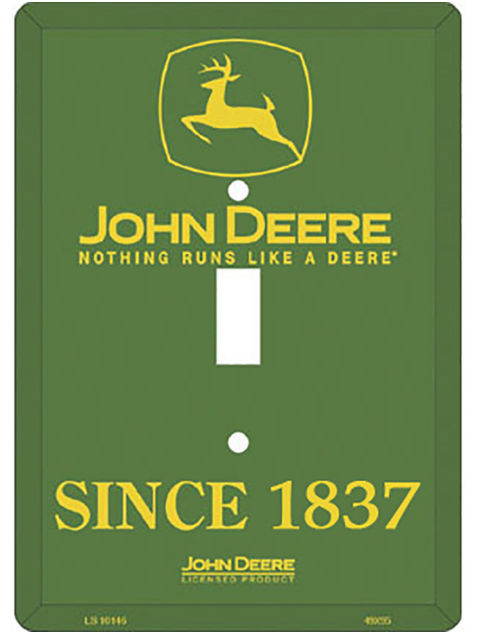 Nothing Runs Like a Deere Light Switch Cover