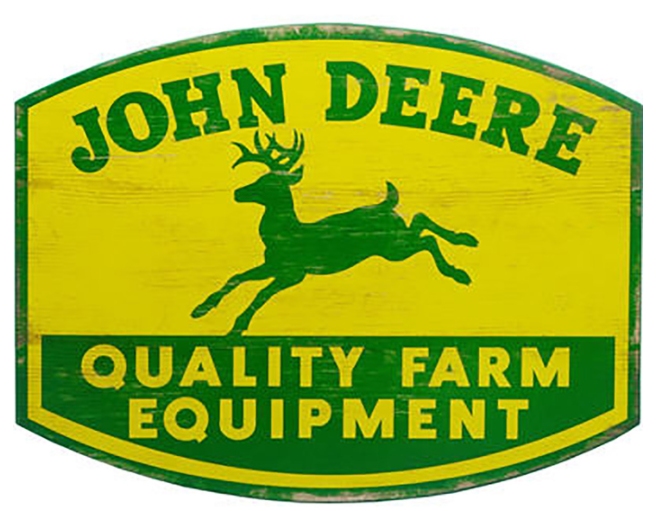 Quality Farm Equipment Wooden Sign