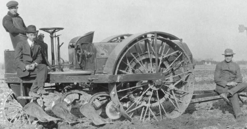 john deere tractor plow