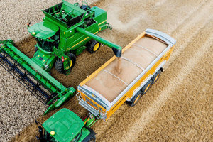 Many producers have more grain than they can store, forcing them to think about alternative storage options.