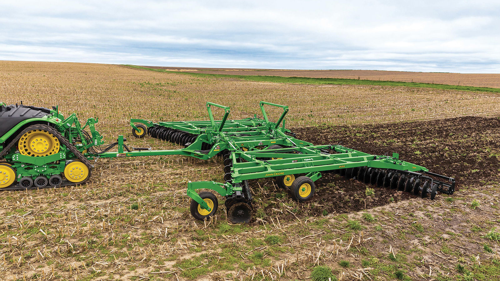 Tandem John Deere Tractors : Key highlights of the john deere series disks