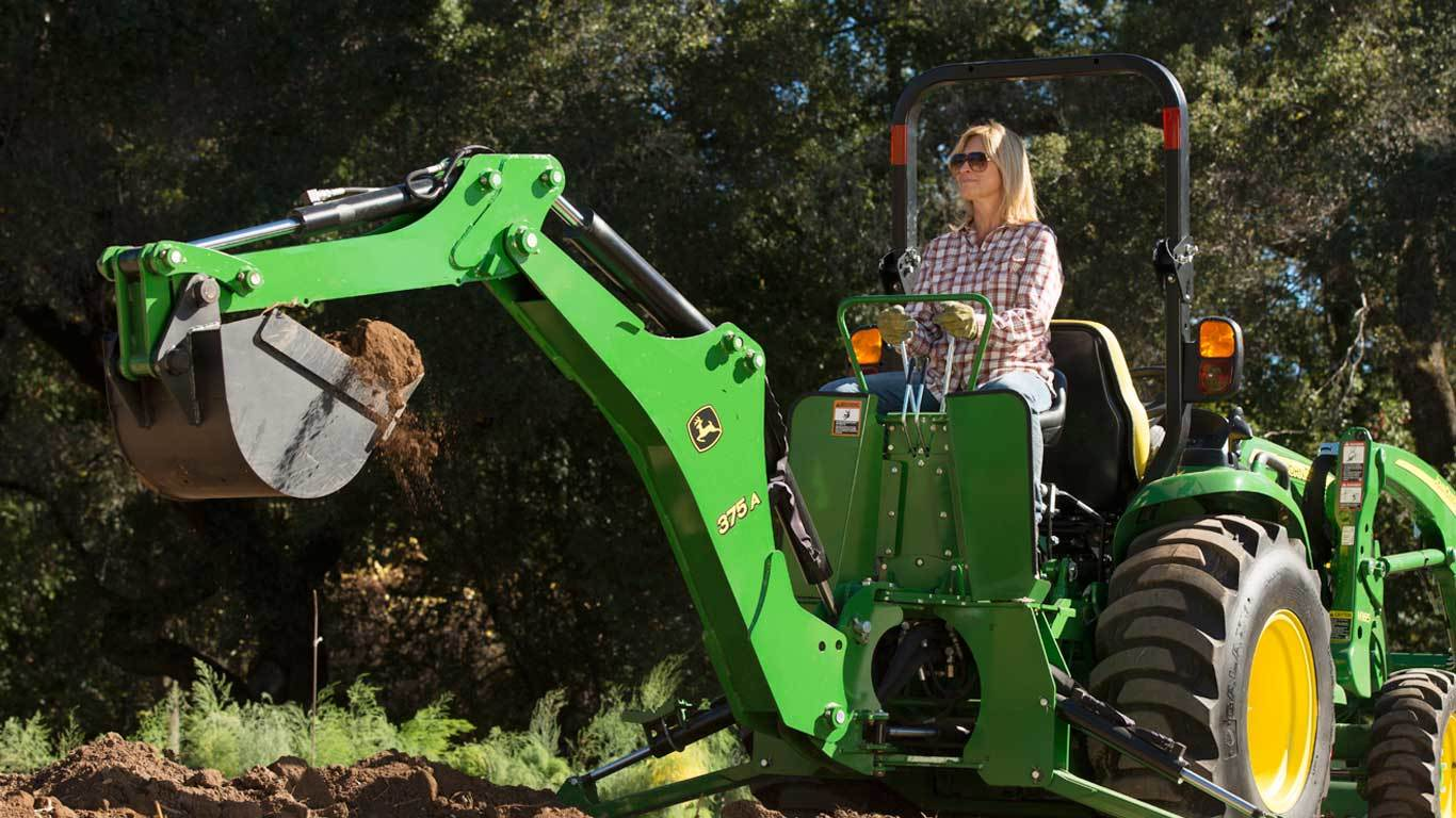 Taking On The Tree Stump Removal Process With John Deere