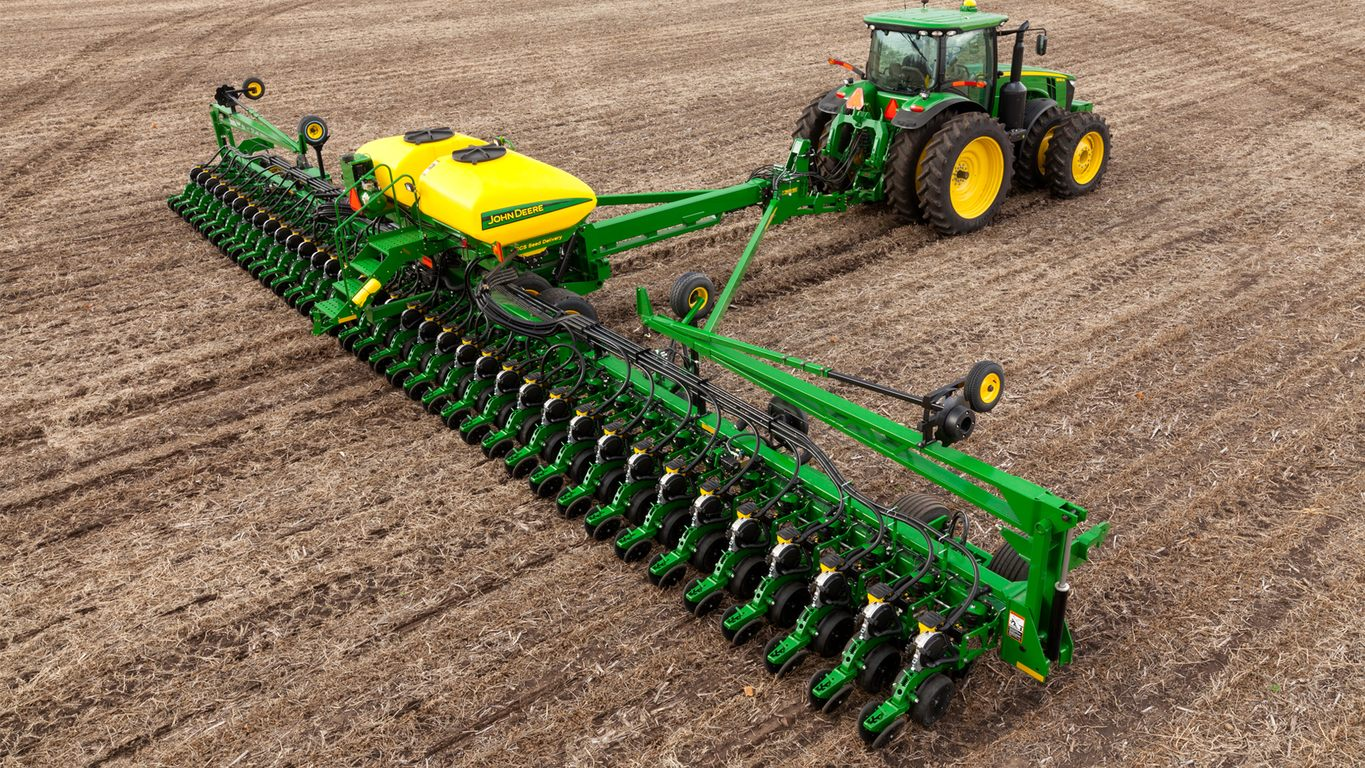 How A John Deere Db60 Can Help You With Your Planting Needs