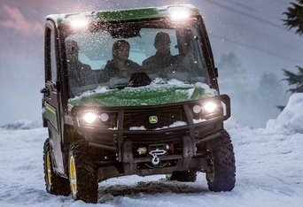The XUV835 and XUV865 were designed with comfort in mind when riding over rough terrain in every kind of weather.