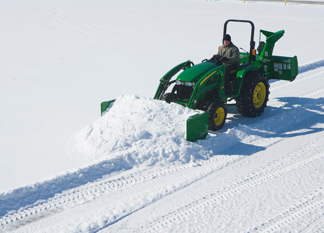 John Deere Snow Removal Tips