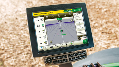 Deere's Generation 4 CommandCenter is now compatible with Ag Leader Technology SMS Software.