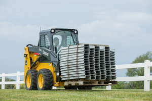 The first place contest winner will select their preferred model of a G-Series skid steer or CTL.