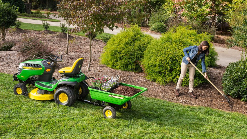 Garden Tractor Attachments to Help You Welcome Spring