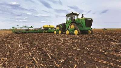 The 9RX Narrow Track Tractor will be on display at the Commodity Classic.