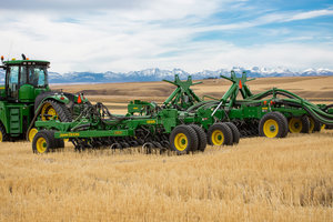New technology allows operators more precision when it comes to placing their seed and fertilizer quickly.