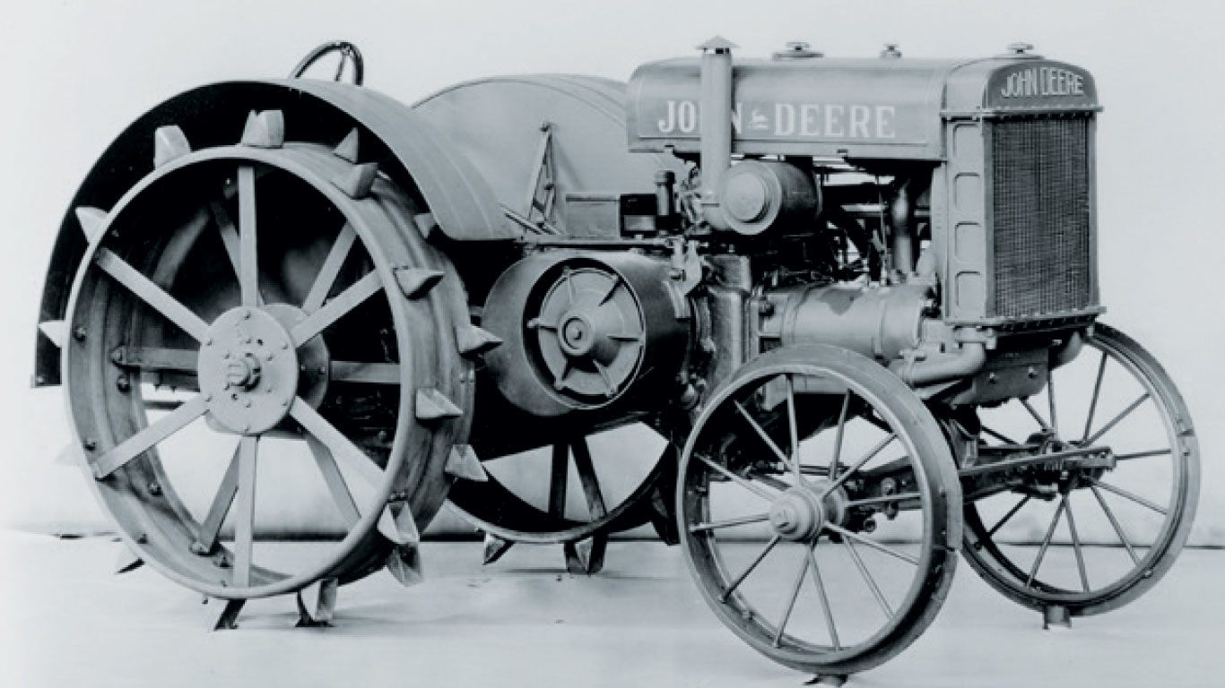 Celebrating 100 Years Of John Deere Tractors With Events