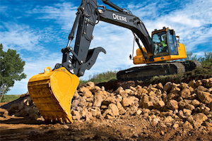 This guidance system is designed to increase productivity and reduce downtime for tasks including digging, shaping, and preparing foundations.