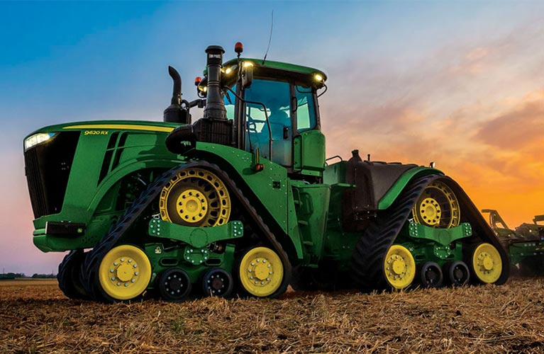 A Closer Look At The Highlights Of The John Deere 9rx Tractor