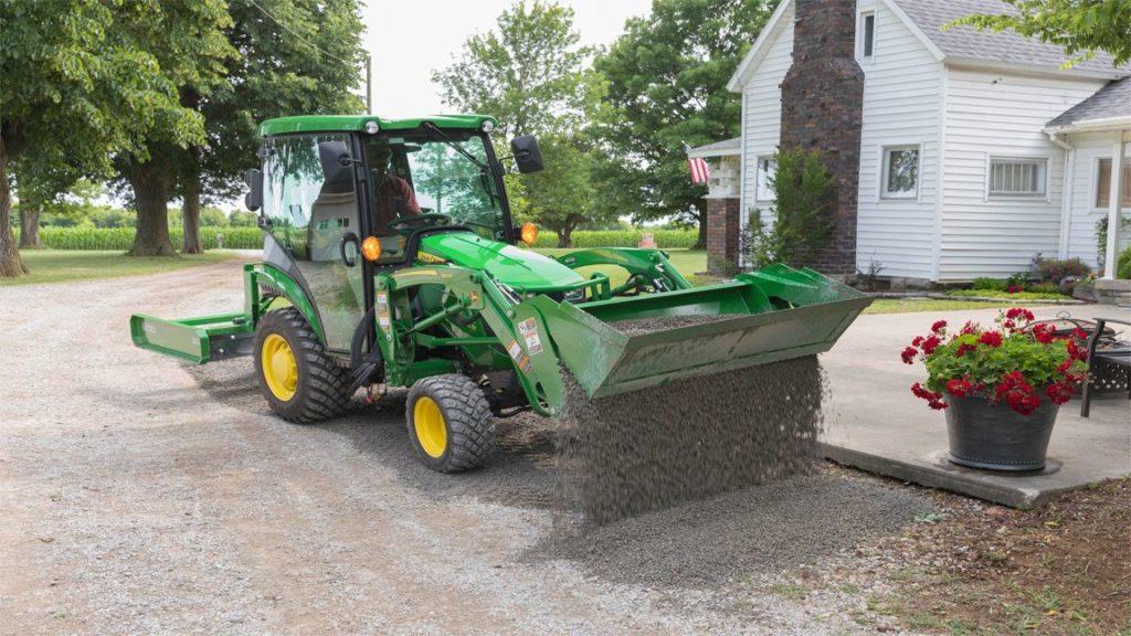 John Deere Utility Tractor Attachment