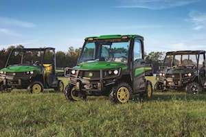 John Deere will be showcasing a range of equipment at this year's event, including utility vehicles, at Booth 1110.