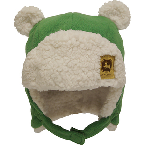 "<img src=""fuzzy ear flap hat .jpeg"" alt=""Green hat with ear flaps and white fuzzy ears"">"