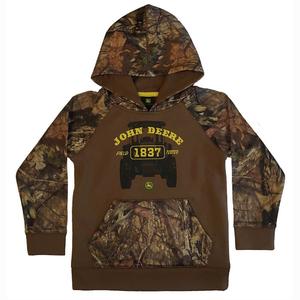 "<img src=""mossy oak camo hoodie.jpeg"" alt=""Brown hoodie with camouflage pattern"">"