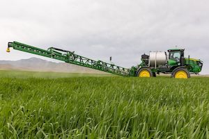 The R4060 Sprayer will feature CommandDrive, giving it improved traction and fuel efficiency out in the field.