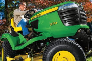 "Lawn tractors, zero-turn mowers, and commercial mowing equipment are a part of the ""Gear Up 4 Fall"" event, which concludes in October 2019."