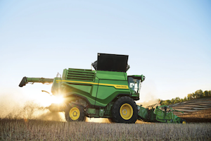 The X Series combines can thresh, separate, and clean more bushels per hour, even under unpredictable and challenging conditions.