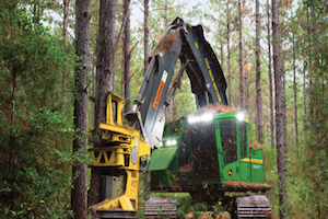 Tracked feller bunchers and harvesters now have SBC software readily available.