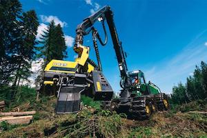The small-size H423 harvester head and the large-size H425 and H425HD will all have a 4WD feed, just as their predecessors did.