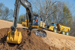 The 470G LC Excavator has everything you could need to push the productivity of your operation.